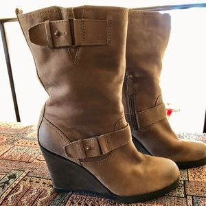 HALOGEN leather boots size 11 FINAL$$$